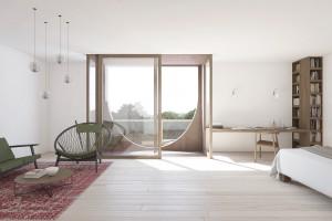 So könnten die Wohnungen für Gastwissenschaftler aussehen. Foto: Universität Hamburg