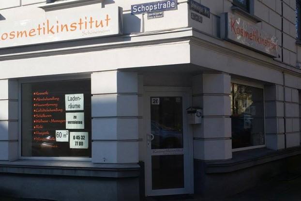 Das Kosmetikinstitut Schönemann ist geschlossen. Foto: Malte Klauck