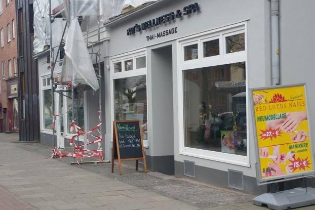 Pat´s Wellness & Spa hat in der Osterstraße eröffnet. Foto: Malte Klauck