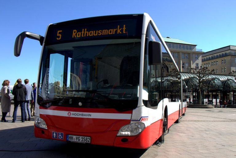Hamburg Eimsbüttel Busse der Linie 5 sollen in den Frühjahrsferien mit einer geringeren Taktung fahren. Foto:Niklas Rademacher