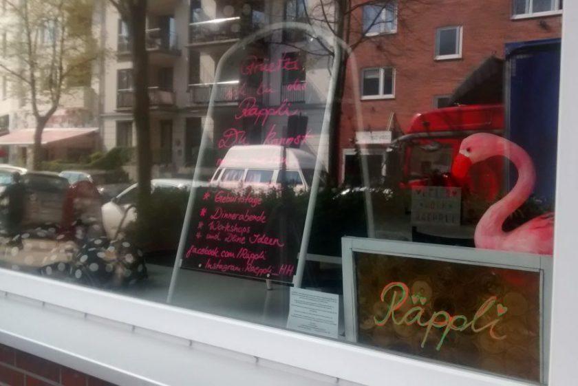 Seit dem Osterstraßenfest hat Räppli geöffnet. Foto: Theresa Schulte