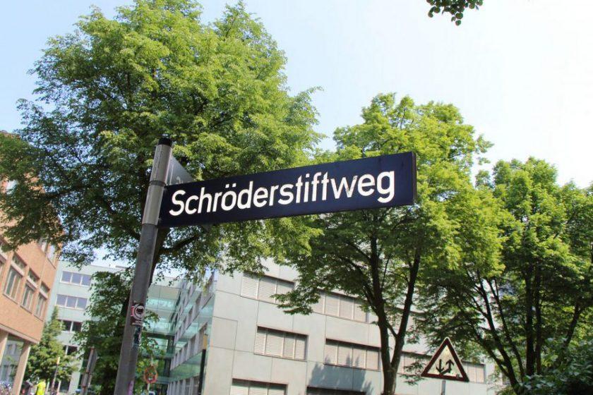 Im Schröderstiftweg endete ein Konflikt um Blumen blutig. Foto: Felix Kirsch