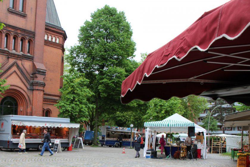 Apostelmarkt feierlich eröffnet