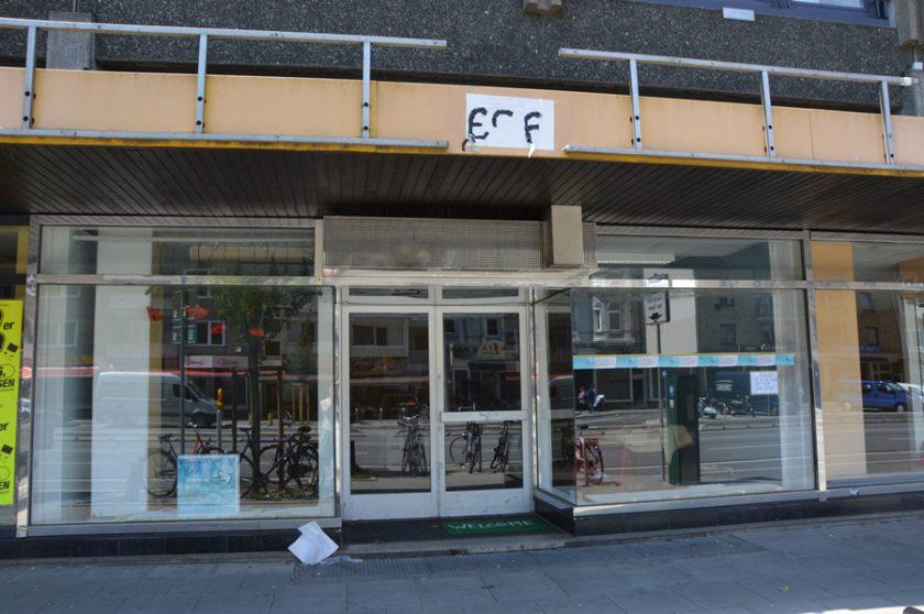 Die Pop-Up-Galerie am Grindel schließt Ende Juni. Foto: Henrike Hapke