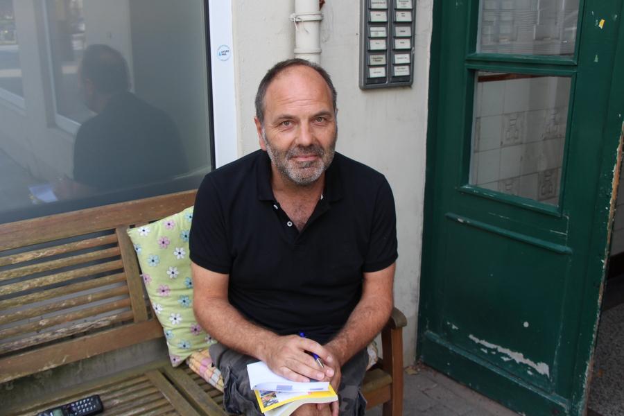 Achim, 49 plant seinen Urlaub. Foto: Jannika Grimm