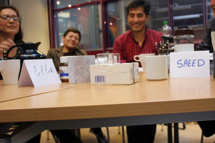 Gesprächsrunde in der Bücherhalle Eimsbüttel. Foto: Jannika Grimm