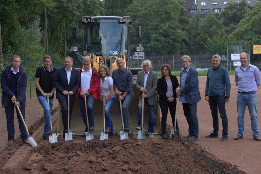 In den nächsten drei Monaten wird die Sportanlage modernisiert. Foto: Jannika Grimm