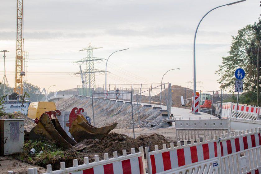 A7: Kurzzeitige Brückensperrung