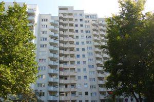 In den Jahren 2000 bis 2007 wurde die Lenzsiedlung in Förderprogramme der Stadt Hamburg aufgenommen, um das schlechte Image der Siedlung zu verbessern. Foto: Karoline Gebhardt