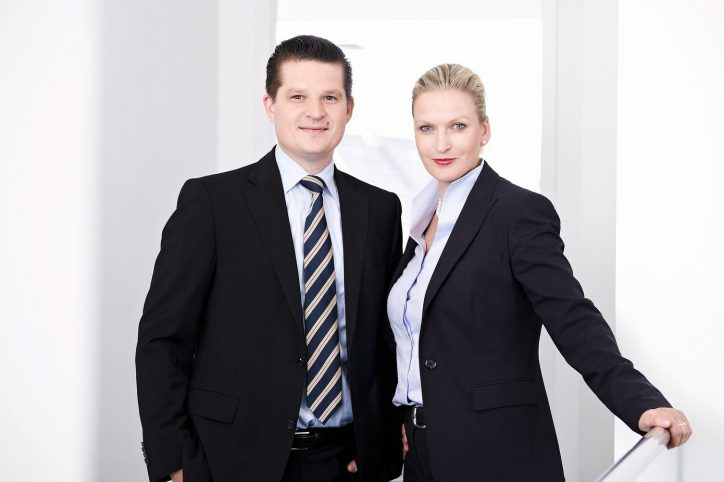 Thore und Nicole Hoffmann. Foto: Frank Hoffmann Immobilien