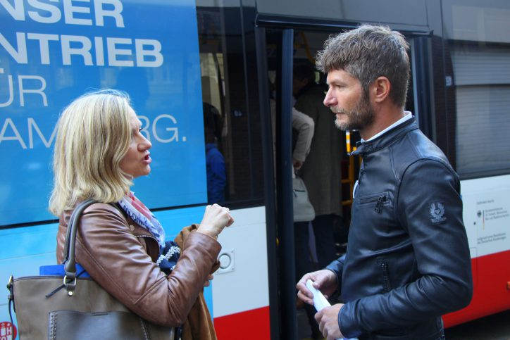 Auftakt zur Mobilitäts-Studie in Eimsbüttel