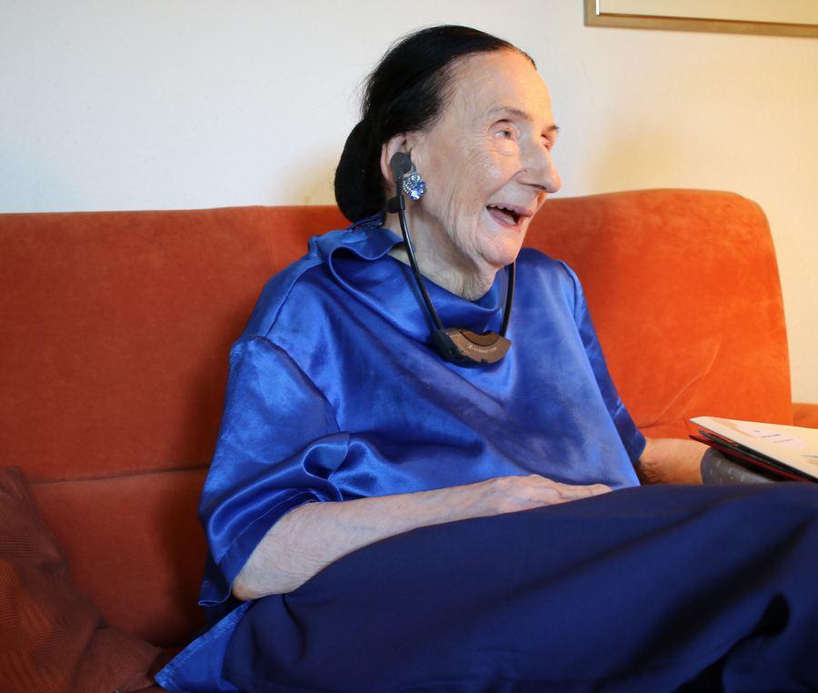 Geboren wurde Ruth Geede im Jahre 1916 in Königsberg. Foto: Jannika Grimm