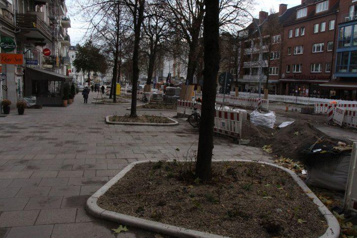 Andere Einwohner freuen sich über die neu geschaffenen, grünen Plätze in ihrer Straßen und würden sich gerne um den Erhalt dieser kümmern. Foto: Ida Wittenberg