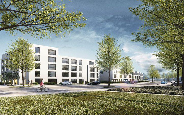 Architektenentwurf für die Julius-Vosseler Siedlung – Teil 1