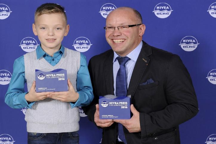 Nivea-Preis 2016 geht an den Grundschüler Markus Rud. Foto: Beiersdorf