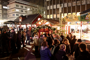 Der Weihnachtsmarkt Osterstraße ist der Klassiker unter den Eimsbütteler Märkten. Foto: Eimsbütteler Nachrichten