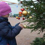Der gesamte Weihnachtsbaumschmuck kam durch Spenden zusammen. Foto: Ida Wittenberg