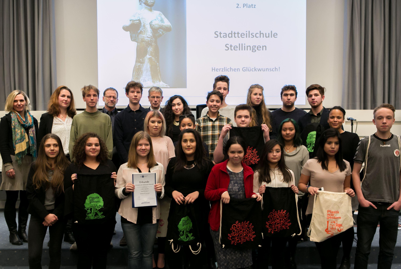 Stadtteilschule Sellingen gewinnt den 2. Preis. Foto: Annegret Hultsch