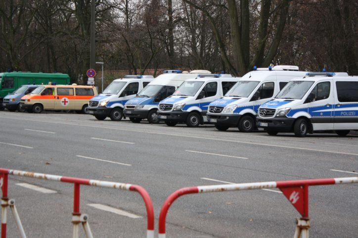 15.000 Polizisten werden beim G20-Gipfel im Einsatz sein. Foto: Karoline Gebhardt