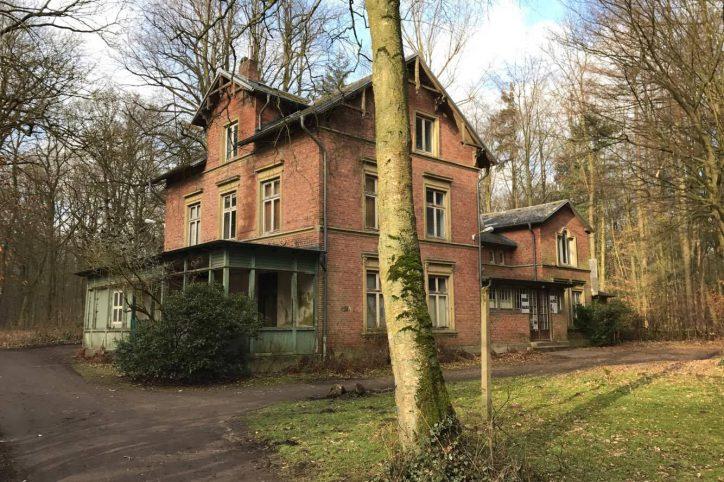 Die Villa Mutzenbecher vor der Sanierung. Foto: Carolin Martz