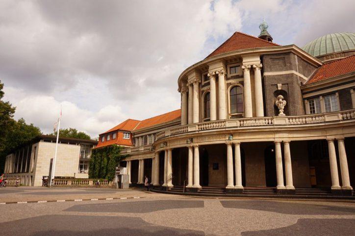 Chemie-Gebäude der Uni Hamburg wieder in Betrieb