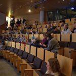 Die Reihen im Auditorium von Gruner und Jahr füllen sich. Foto: Johanna Hänsel