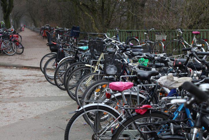 Mutmaßliche Fahrraddiebe auf frischer Tat ertappt