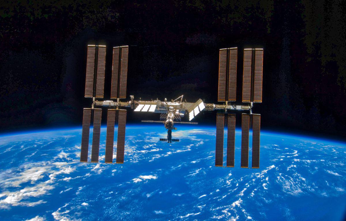 Die Raumstation ISS. Bild: Screenshot / Nasa