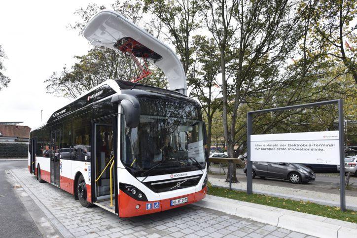 Hamburger Busverkehr wird emissionsfrei