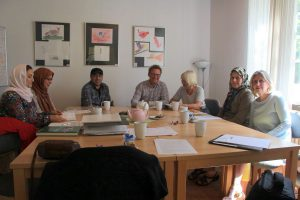 Die kleinen Gruppen zur Sprachförderung sind für jeden Teilnehmer kostenlos. Foto: Jannika Grimm