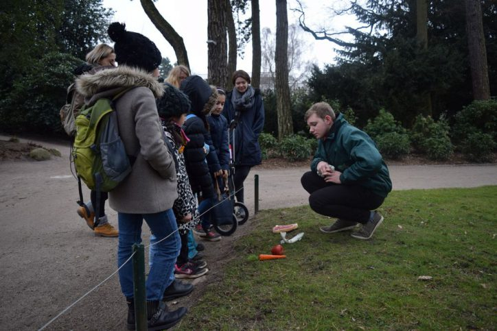 Weitblick mit Kindern vom SOS KInderdorf im Hagenbecks Tierpark. Foto: Johanna Hänsel