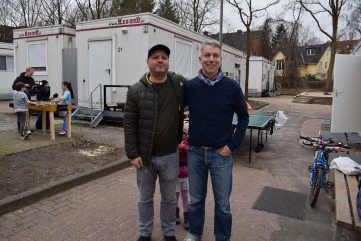 Ernst Ludwig Galling und Florian Wietz haben die Petition ins Leben gerufen. Foto: Johanna Hänsel