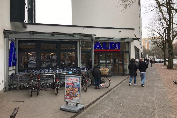 Aldi-Filiale in Eimsbüttel ausgeraubt