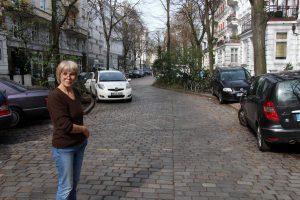 Ladenbesitzerin Ingrid Weidle ist besorgt
