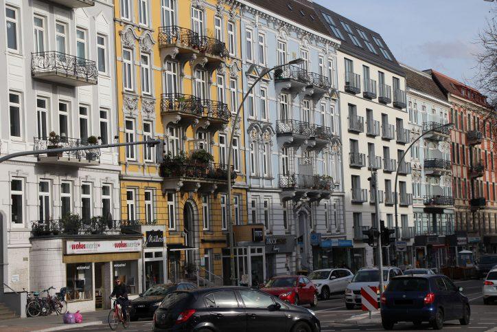 Teures Wohnen in Eimsbüttel. Foto: Eimsbütteler Nachrichten