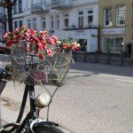 Auch ein Fahrrad lässt sich schmücken. Foto: Eimsbütteler Nachrichten