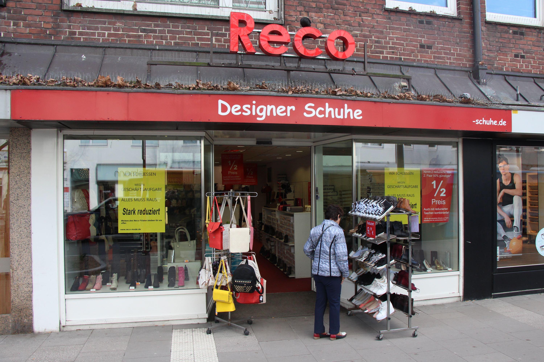 Schuhgeschäft Reco verlässt Osterstraße