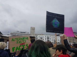March for Science in Hamburg gegen alternative Fakten. Foto: Anna Gröhn