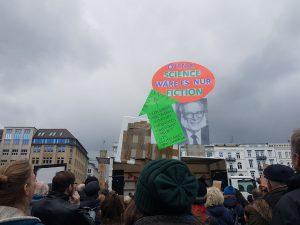 Demonstration für die Wissenschaft beim March for Science Hamburg. Foto: Anna Gröhn