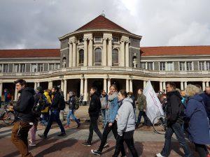 March for Science Hamburg an der Universität Hamburg. Foto: Anna Gröhn