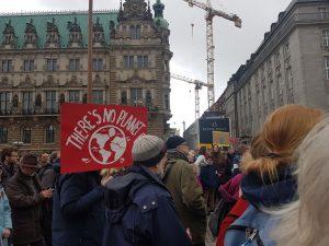 Plakat beim March for Science Hamburg. Foto: Anna Gröhn