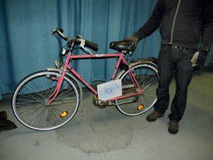 Wer erkennt sein Fahrrad wieder? Foto: Polizei Hamburg
