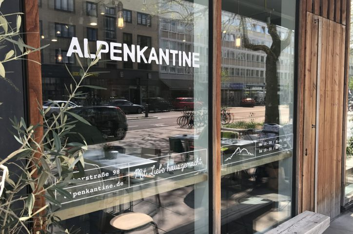 Alpenkantine Foto: Fabian Hennig