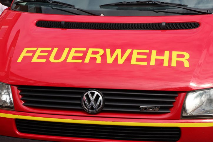 Brand in Harvestehude