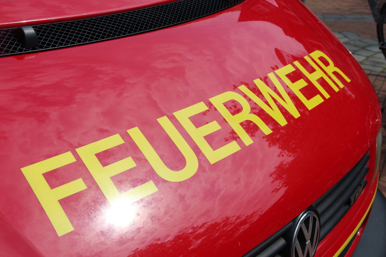 Feuer auf dem Parkhaus in Eidelstedt