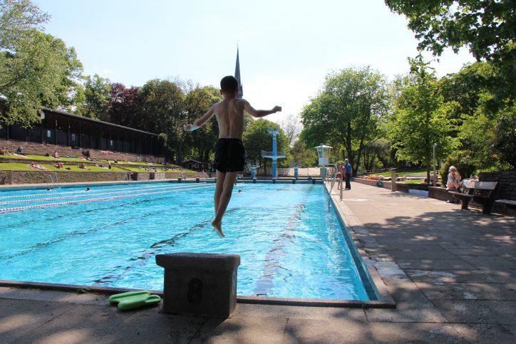 Kaifu-Bad: Eimsbüttel eröffnet Freibadsaison