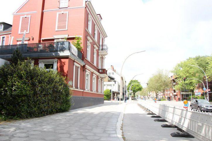 """Bauarbeiten für Bushaltestelle """"Goebenstraße"""" bleiben weiter untersagt"""