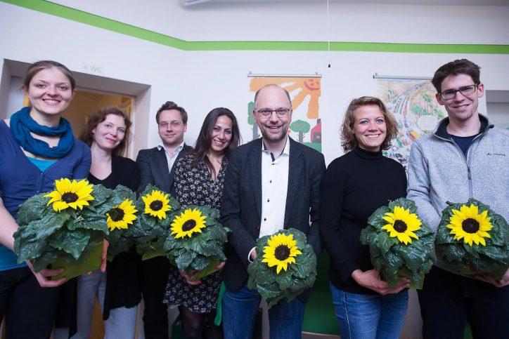 Justizsenator Till Steffen ist neuer Vorsitzender der Grünen in Eimsbüttel