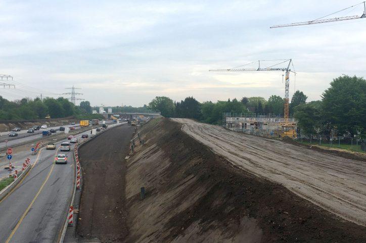 Oberverwaltungsgericht: Baustopp am Duvenacker zunächst aufgehoben