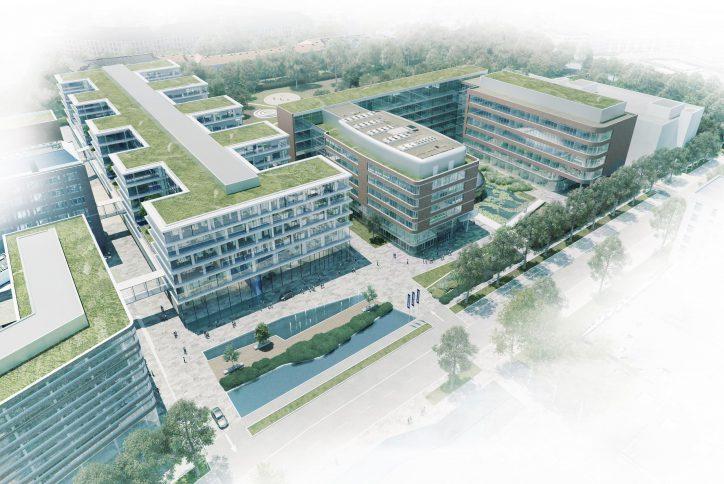So soll die neue Konzernzentrale an der Troplowitzstraße aussehen. Foto: Beiersdorf AG